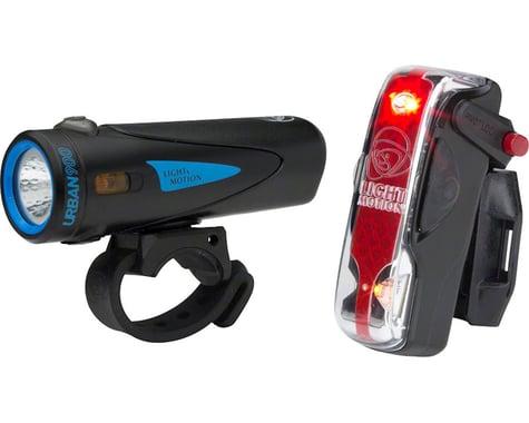 Light & Motion Urban 900/ Vis 180 Pro Headlight & Taillight Set