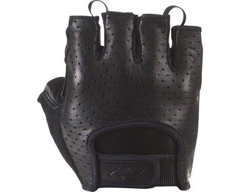 Lizard Skins Aramus Classic Short Finger Gloves (Jet Black) (M)
