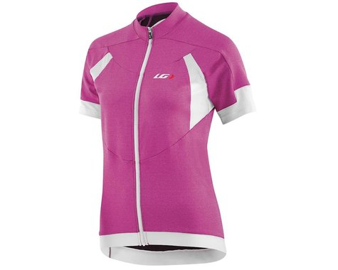 Louis Garneau Women's Icefit Short Sleeve Jersey (Candy Purple) (M)