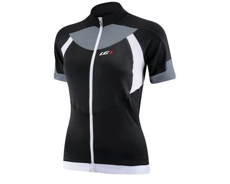Louis Garneau Women's IceFit Short Sleeve Jersey (Black/White) (Xxlarge)
