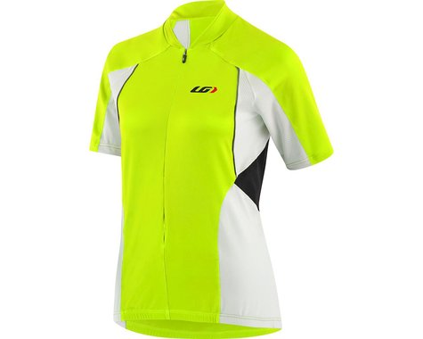 Louis Garneau Women's Beeze Vent Cycling Jersey (Bright yellow/White/Black)