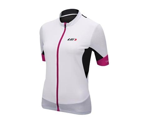 Louis Garneau Women's Carbon Mesh Cycling Jersey (White)