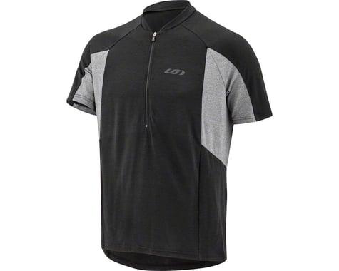 Louis Garneau Connection Short Sleeve Jersey (Black/Grey)