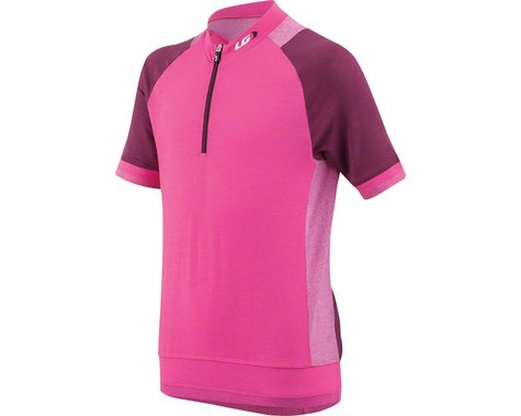 Louis Garneau Lemmon Junior Jersey (Pink Glow Magenta Purple)