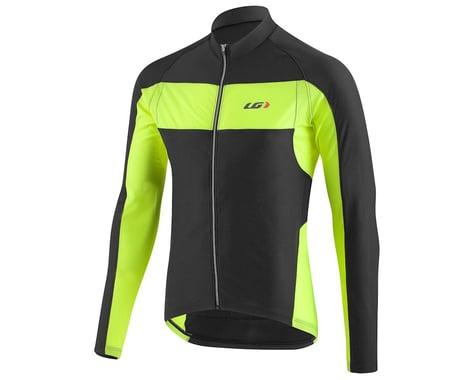Louis Garneau Ventila SL Long Sleeve Cycling Jersey (Black/Bright Yellow)