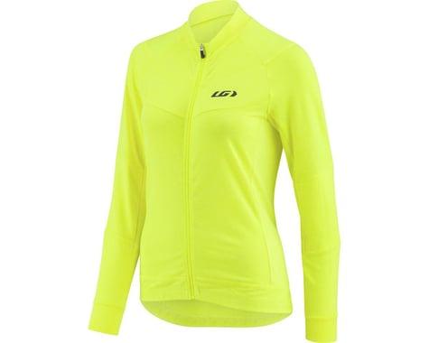 Louis Garneau Women's Beeze Long Sleeve Jersey (Bright Yellow) (M)
