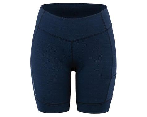 Louis Garneau Women's Fit Sensor Texture 7.5 Shorts (Dark Night) (XL)