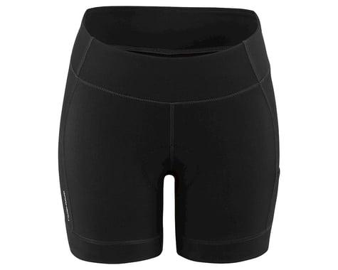 Louis Garneau Women's Fit Sensor 5.5 Shorts 2 (Black) (2XL)