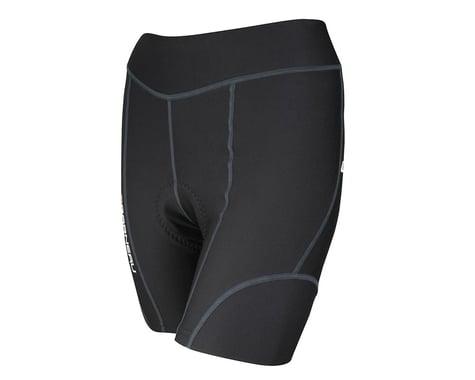 Louis Garneau Women's Fit Sensor 5.5 Shorts (Black)