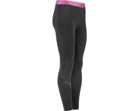 Louis Garneau Women's 2004 Base Layer Bottom Pants (Black/Purple) (M)