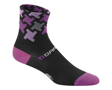 Louis Garneau Women's Tuscan Socks (Black/Pink) (L/Xl)