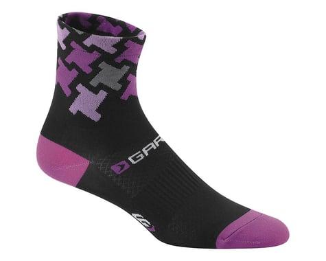 Louis Garneau Women's Tuscan Socks (Black/Pink) (L/Xl) (S/M)