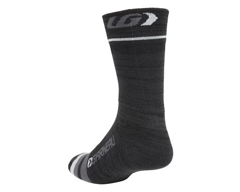 Louis Garneau Merino Prima Socks (Black) (L/Xl)