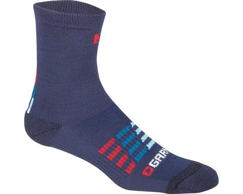 Louis Garneau Merino 30 Socks (Blue/Red)