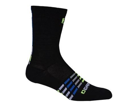 Louis Garneau Merino 30 Socks (Black/Blue)