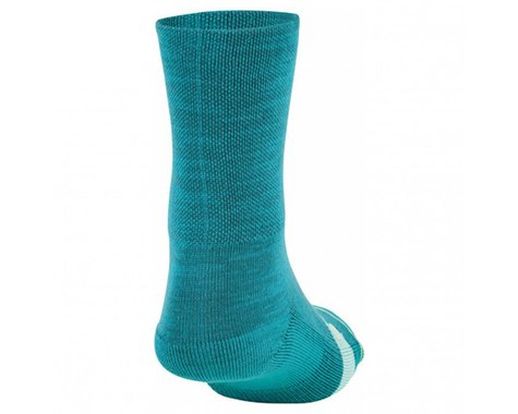 Louis Garneau Women's Merino Prima Socks (Grey/Pink) (L/Xl)