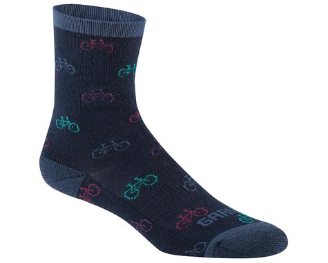 Louis Garneau Women's Merino 60 Socks (Dark Night) (L/XL)
