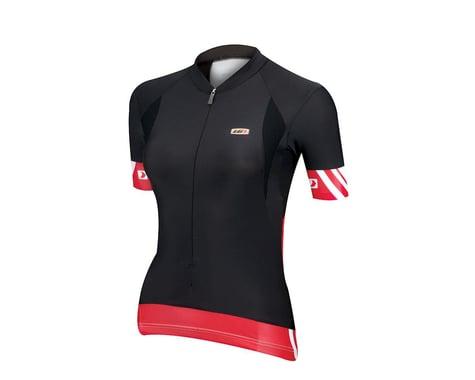 Louis Garneau Women's Mondo Short Sleeve Jersey (Black) (Xsmall)