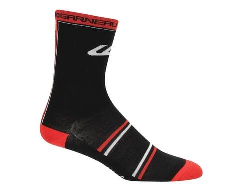 Louis Garneau Freddo Wool Socks - Performance Exclusive (Black/Red)