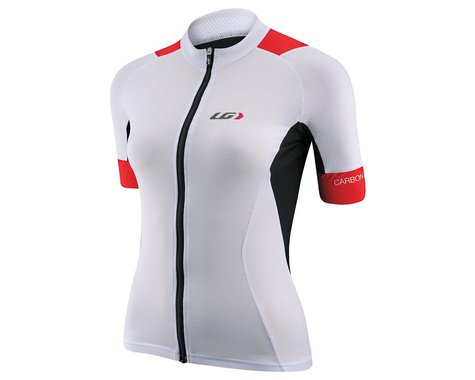 Louis Garneau Women's Carbon Short Sleeve Jersey (White)