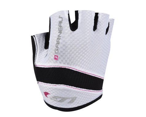 Louis Garneau Women's Stratus Gel Glove - Performance Exclusive (White)