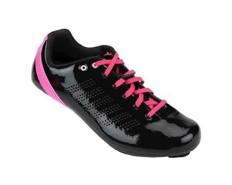 Louis Garneau Women's Sienna Road Shoes - Performance Exclusive (Black/Pink)