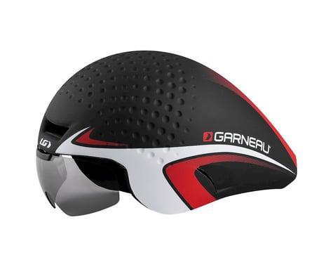 Louis Garneau P-09 Time Trial Helmet (Black/Red)