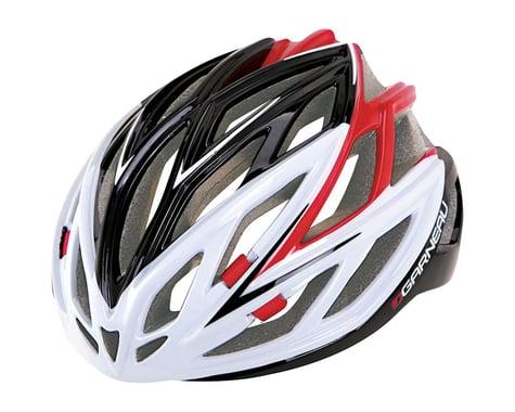 """Louis Garneau X-Lite Road Helmet (Black/Red) (Large 23.25-24.5"""")"""