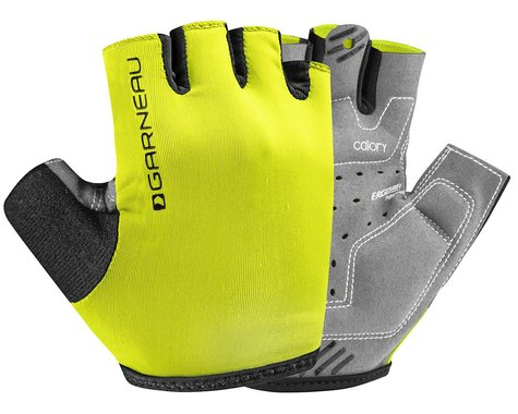 Louis Garneau JR Calory Youth Gloves (Bright Yellow) (Youth S)