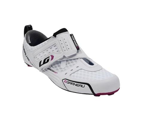 Louis Garneau Women's Tri X-Lite Triathlon Shoes (White)