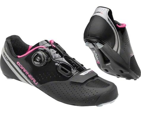 Louis Garneau Women's Carbon Ls-100 II Shoes (Black/Pink)