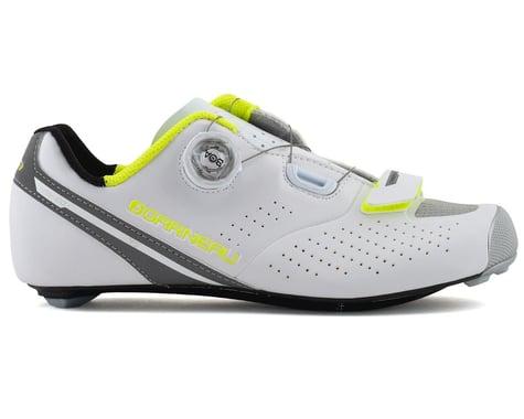 Louis Garneau Women's Carbon LS-100 II Shoes (White/Yellow)