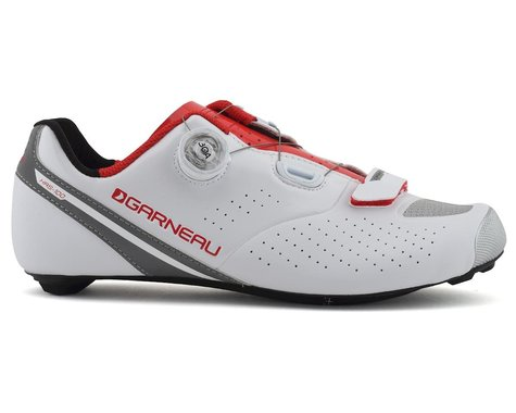 Louis Garneau Carbon Ls-100 II Shoes (White/Ginger)