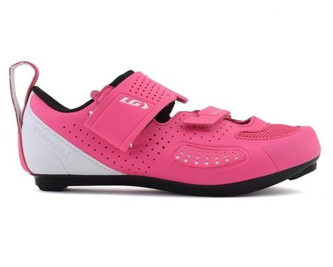 Louis Garneau Women's X-Speed IV Tri Shoe (Pink Pop) (39)