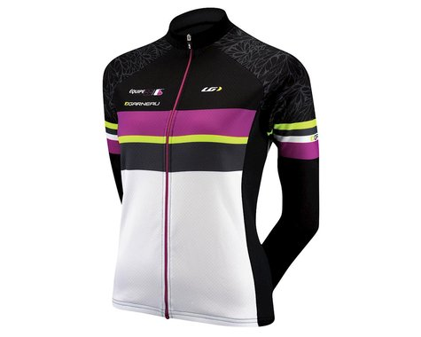 Louis Garneau Women's Equipe Long Sleeve Jersey (Black/White)