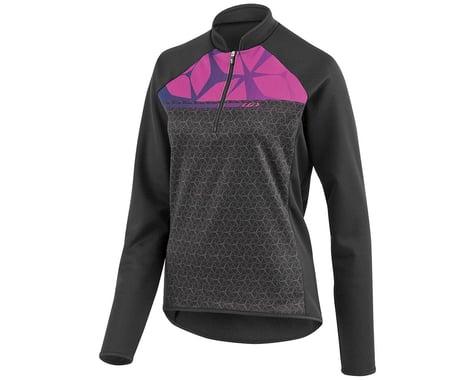 Louis Garneau Gardena 2 Women's Long Sleeve Cycling Jersey (Black/Candy Purple)