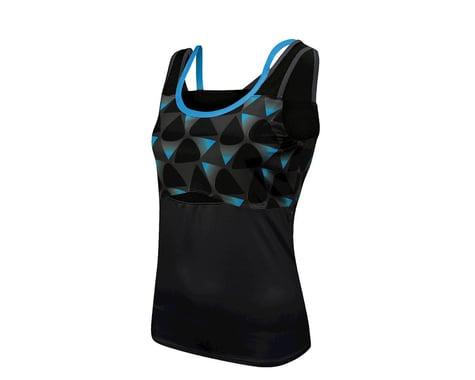 Louis Garneau Shape Sens Women's Sleeveless Jersey (Blue/Black) (Xxlarge)
