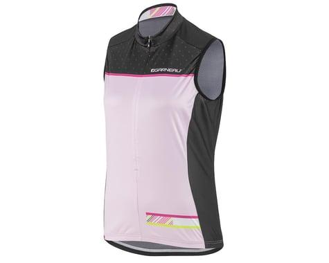 Louis Garneau Women's Zircon Sleeveless Jersey (Black/Pink) (L)