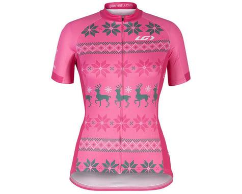 Louis Garneau Women's Holiday Ugly Jersey (Pink) (L)