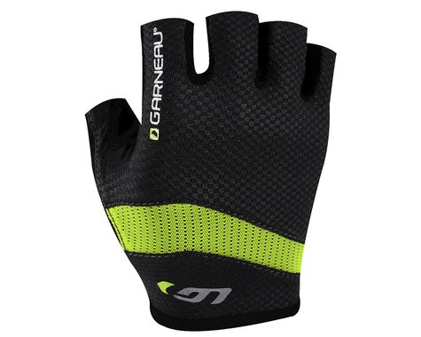 Louis Garneau Stratus Gel Gloves - Performance Exclusive (Matte Black/High Vis) (Xlarge)