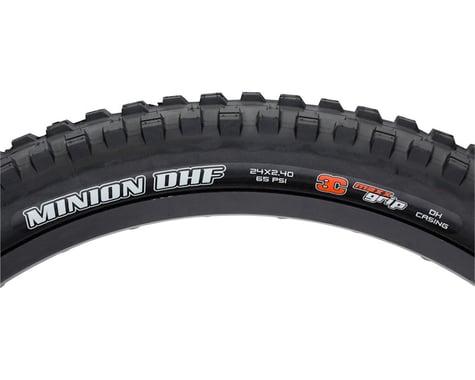 """Maxxis Minion DHF Trail Mountain Tire (Black) (24"""") (2.4"""")"""