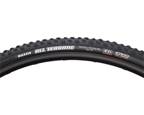 Maxxis All Terrane Tubeless Cross Tire (Black) (700c) (33mm)