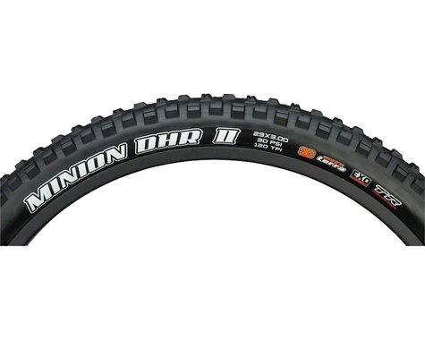 "Maxxis Minion DHR II Plus Tubeless Mountain Tire (Black) (29"") (3.0"")"