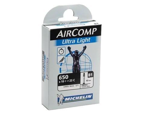 Michelin 650c AirComp Ultra Light Inner Tube (Presta) (18 - 23mm) (40mm)