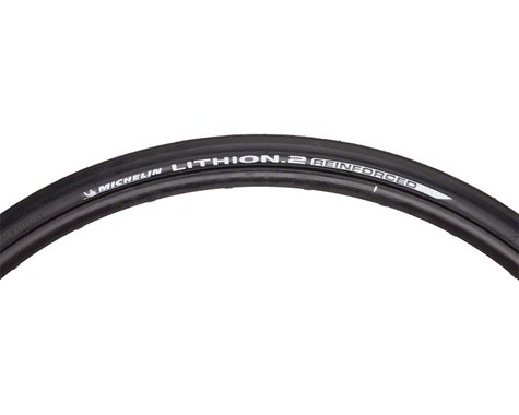Michelin Lithion 2 Reinforced Road Tire (Black) (700c) (23mm)
