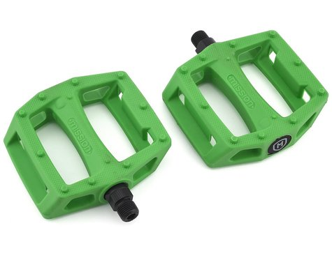 Mission Impulse PC Pedals (Kelly Green)
