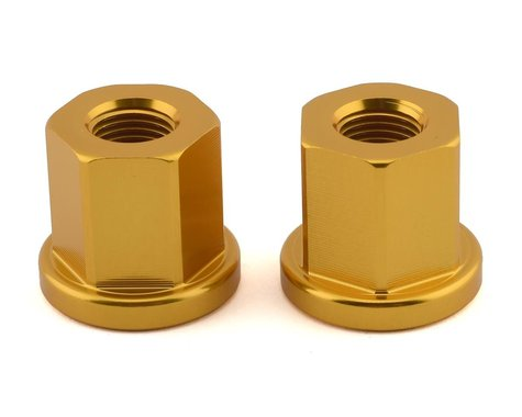 Mission Alloy Axle Nuts (Gold)