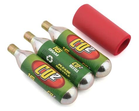 Mr Tuffy CO2 Cartridge Pack (w/ Neoprene Sleeve) (3 Pack) (16g)