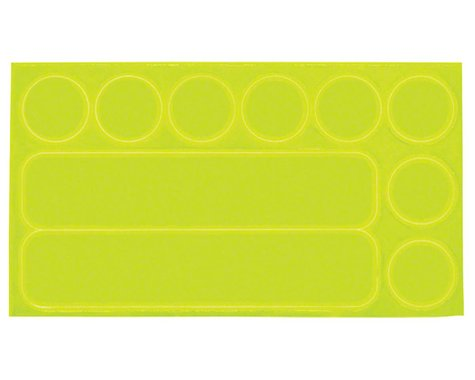 Nathan Reflective Dots and Dashes Stick-ons: Yellow