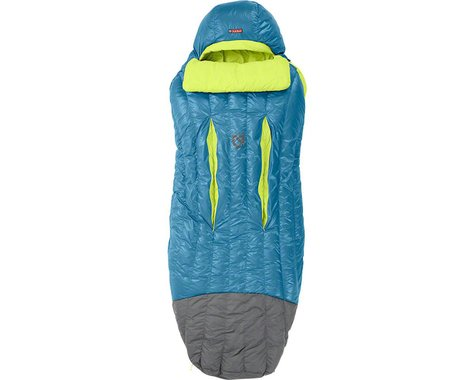 Nemo Disco 15 Sleeping Bag (Deep Sea/Keylime) (650 FP Down w/ Nikwax)